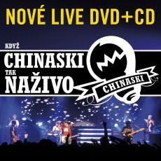 CD/DVD / Chinaski / Když Chinaski tak naživo / CD+DVD
