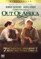 DVD / FILM / Vzpomínky na Afriku / Out Of Africa