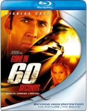 Blu-Ray / Blu-ray film /  60 sekund / Gone In Sixty Seconds / Blu-Ray Disc