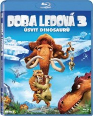 Blu-Ray / Blu-ray film /  Doba ledová 3:Úsvit dinosaurů / Blu-Ray Disc