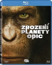 Blu-Ray / Blu-ray film /  Zrození planety opic / Rise Of The Planet Of The Apes