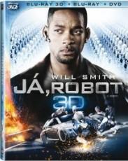 3D Blu-Ray / Blu-ray film /  Já,robot / I,Robot / 3D+2D Blu-Ray Disc