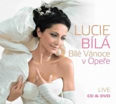 CD/DVD / Bílá Lucie / Bílé Vánoce v Opeře / CD+DVD