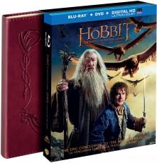 3D Blu-Ray / Blu-ray film /  Hobit:Bitva pěti armád / 3D+2D 4Blu-Ray+zápisník
