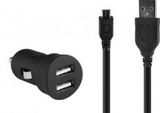 HIFI / HIFI / Micro USB nabíjecí sada do auta / 2 v 1
