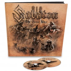 2CD / Sabaton / Great War / Limited Edition / Earbook / 2CD
