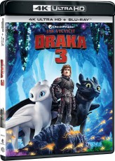UHD4kBD / Blu-ray film /  Jak vycvičit draka 3 / UHD+Blu-Ray