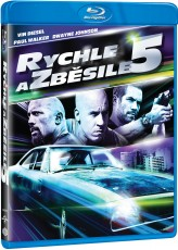 Blu-Ray / Blu-ray film /  Rychle a zběsile 5 / Fast Five / Blu-Ray