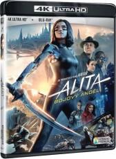 UHD4kBD / Blu-ray film /  Alita:Bojový anděl / UHD+Blu-Ray