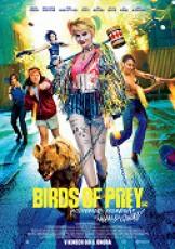 DVD / FILM / Birds Of Prey / Podivuhodná proměna Harley Quinn