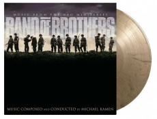 2LP / OST / Band of Brothers / Vinyl / 2LP / Coloured / Black / Gold Marbled