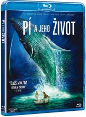 DVD / Blu-ray film /  Pí a jeho život / Blu-Ray