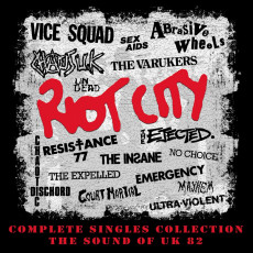 4CD / Various / Riot City / Complete Singles Collection / 4CD