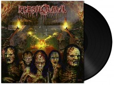 LP / Fleshcrawl / As Blood Rains From The Sky / Vinyl