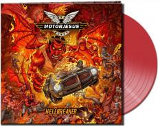 LP / Motorjesus / Hellbreaker / Vinyl / Coloured / Clear Red