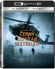UHD4kBD / Blu-ray film /  Černý jestřáb sestřelen / UHD+Blu-Ray