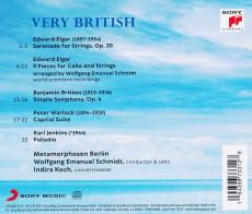 CD / Metamorphosen Berlin / Elgar / Britten / Warlock / Jenkins: Very..