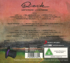 2CD/DVD / Riverside / Lost'n'Found - Live In Tilburg / 2CD+DVD