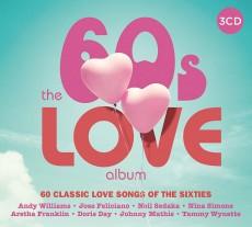3CD / Various / 60s Love Album / 3CD / Digipack