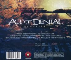 CD / Act Of Denial / Negative