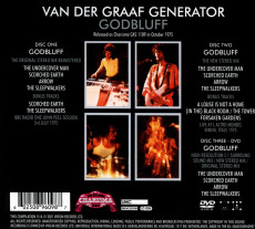 2CD/DVD / Van Der Graaf Generator / Godbluff / 2CD+DVD