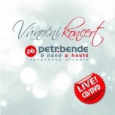 CD/DVD / Bende Petr / Vánoční koncert / CD+DVD