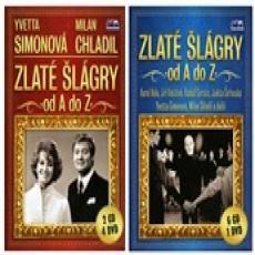 CD/DVD / Various / Zlaté šlágry od A do Z / 8CD+5DVD