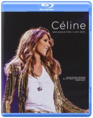 Blu-Ray / Dion Celine / Une Seule Fois / Live 2013 / Blu-Ray+2CD