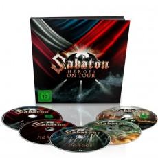 CD / Sabaton / Heroes On Tour / Limited / Earbook / 2BRD+2DVD+CD