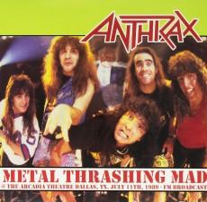 LP / Anthrax / Metal Thrashing Mad / Vinyl