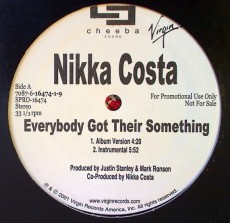 "LP / Costa Nikki / Everyone Got That Something / 12""Single"