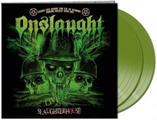 2LP / Onslaught / Live At The Slaughterhouse / Vinyl / Green / 2LP