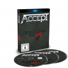 Blu-Ray / Accept / Restless & Live / Blu-Ray+2CD