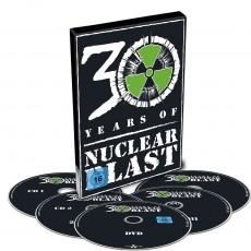 DVD / Various / 30 Years Of Nuclear Blast / DVD+4CD