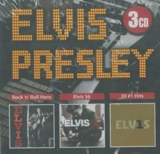 3CD / Presley Elvis / Rock'n'Roll Hero / Elvis'56 / 30#1 Hits / 3CD