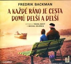 CD / Backman Fredrik / A každé ráno je cesta domů delší a delší / MP3