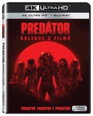 UHD4kBD / Blu-ray film /  Predátor 1-3 / UHD+Blu-Ray / Kolekce