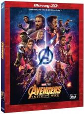 3D Blu-Ray / Blu-ray film /  Avengers:Infinity War / S.E. / 3D+2D Blu-Ray