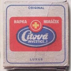 LP / Hapka Petr/Horáček Michal / Citová investice...? / Vinyl