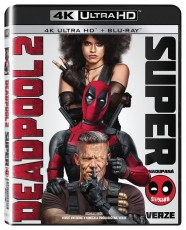 UHD4kBD / Blu-Ray FILM /  Deadpool 2 / 2UHD+2Blu-Ray
