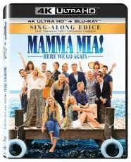 UHD4kBD / Blu-ray film /  Mamma Mia!:Here We Go Again / UHD+Blu-Ray