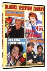 4DVD / HUMOR / Klasici televizní zábavy / 4DVD