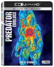 UHD4kBD / Blu-ray film /  Predátor:Evoluce / UHD+Blu-Ray