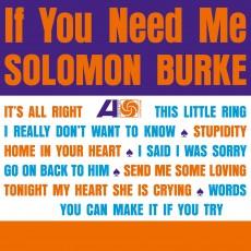 LP / Burke Solomon / If You Need Me / Vinyl