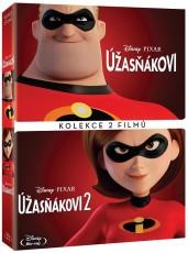 2DVD / FILM / Úžasňákovi 1+2 / Kolekce / 2DVD