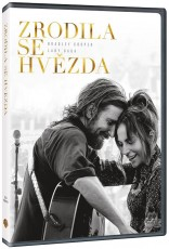 DVD / FILM / Zrodila se hvězda / A Star Is Born / 2018