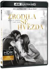 UHD4kBD / Blu-ray film /  Zrodila se hvězda / A Star Is Born / 2018 / UHD+Blu-Ray
