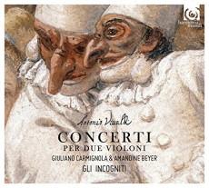 CD / Vivaldi / Concerti per due violini / Beyer / Carmignola / Digipack