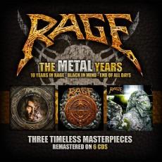 6CD / Rage / Metal Years / 6CD / Box