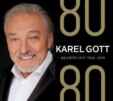 4CD / Gott Karel / 80 / 80 Největší hity 1964-2019 / 4CD / Digipack